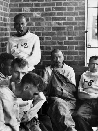 Pilgrim State Hospital Inmates Photographic Print by Alfred Eisenstaedt