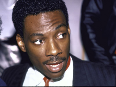 Actor Eddie Murphy Premium Photographic Print by Ann Clifford