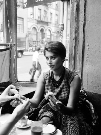 Actress Sophia Loren Metal Print by Peter Stackpole