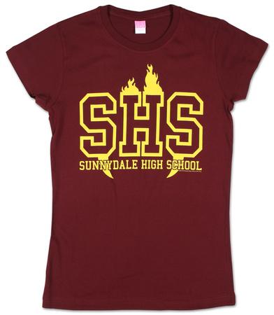 Juniors: Buffy the Vampire Slayer - Full Sunnydale High Shirts