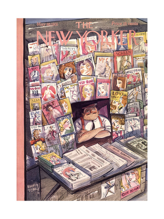 The New Yorker Cover - May 30, 1931 Giclee Print by Barney Tobey