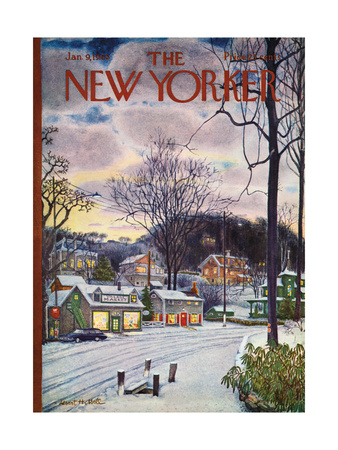 The New Yorker Cover - January 9, 1965 Giclee Print by Albert Hubbell