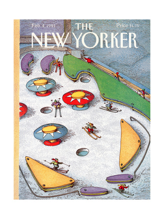 The New Yorker Cover - February 4, 1991 Giclee Print by John O'brien