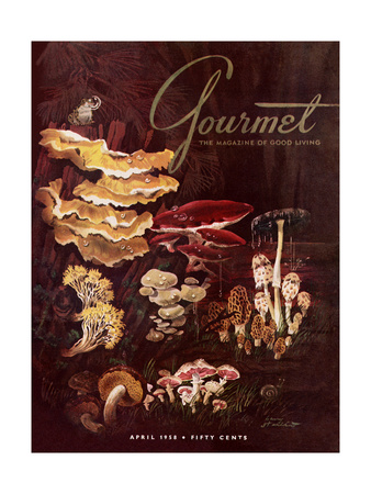 Gourmet Cover - April 1958 Giclee Print by Henry Stahlhut