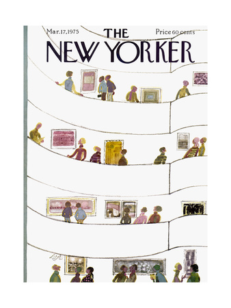 The New Yorker Cover - March 17, 1975 Giclee Print by Laura Jean Allen