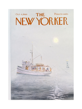 The New Yorker Cover - October 4, 1969 Giclee Print by Albert Hubbell