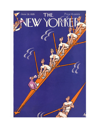 The New Yorker Cover - June 26, 1926 Giclee Print by Julian de Miskey