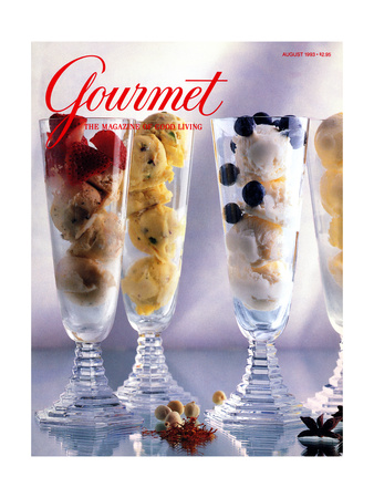 Gourmet Cover - August 1993 Giclee Print by Romulo Yanes