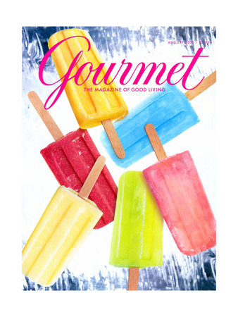 Gourmet Cover - August 2000 Giclee Print by Craig Cutler