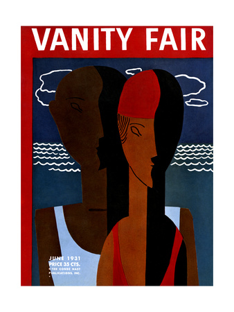 Vanity Fair Cover - June 1931 Giclee Print by  Wadsworth