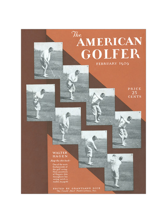 The American Golfer February 1929 Giclee Print