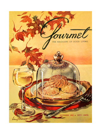 Gourmet Cover - September 1953 Giclee Print by Henry Stahlhut