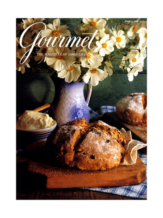 Gourmet Cover - March 1994 Giclee Print by Romulo Yanes