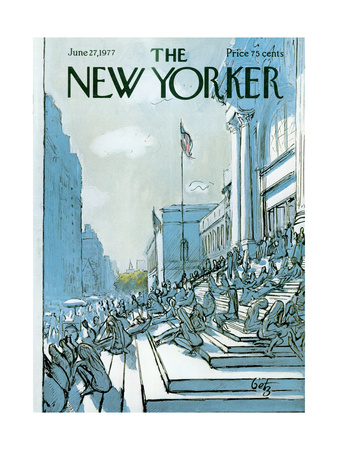 The New Yorker Cover - June 27, 1977 Giclee Print by Arthur Getz