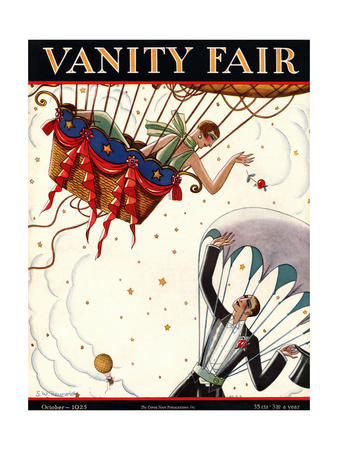 Vanity Fair Cover - October 1925 Giclee Print by Stanley W. Reynolds