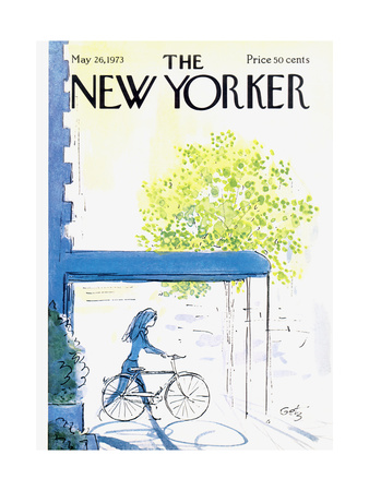 The New Yorker Cover - May 26, 1973 Regular Giclee Print by Arthur Getz