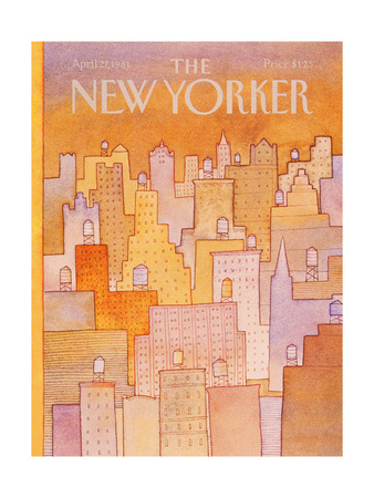 The New Yorker Cover - April 27, 1981 Giclee Print by Lonni Sue Johnson