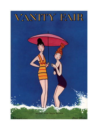 Vanity Fair Cover - February 1915 Giclee Print by A. H. Fish