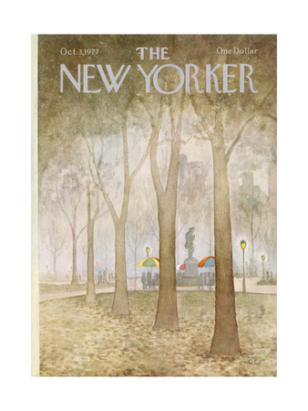 The New Yorker Cover - October 3, 1977 Giclee Print by Charles E. Martin