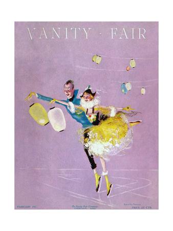 Vanity Fair Cover - February 1917 Giclee Print by Dorothy Ferriss