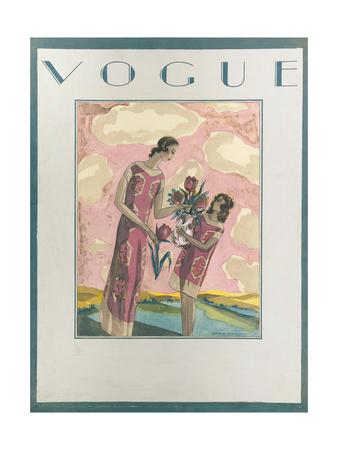 Vogue - July 1925 Giclee Print by Charles A. Platt