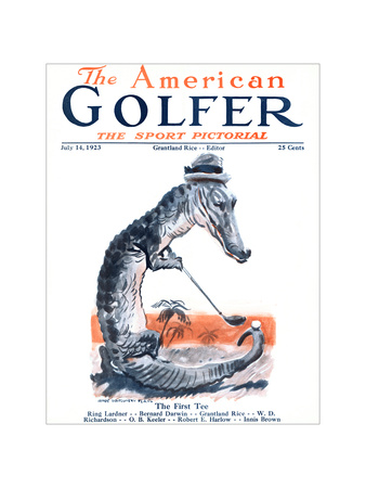 The American Golfer July 14, 1923 Giclee Print by James Montgomery Flagg