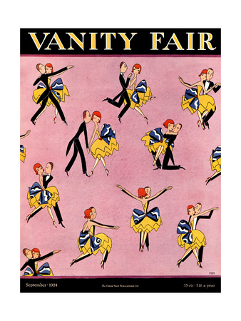 Vanity Fair Cover - September 1924 Giclee Print by A. H. Fish