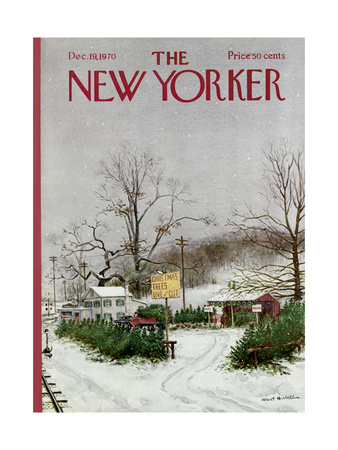 The New Yorker Cover - December 19, 1970 Giclee Print by Albert Hubbell