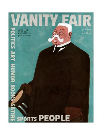 Vanity Fair Cover - June 1932 Giclee Print by  Oberle
