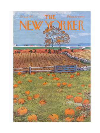 The New Yorker Cover - October 28, 1972 Giclee Print by Albert Hubbell