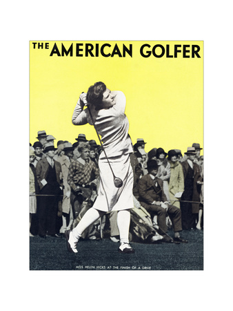 The American Golfer December 1929 Giclee Print