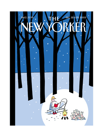 The New Yorker Cover - December 22, 2003 Giclee Print by Philippe Petit-Roulet