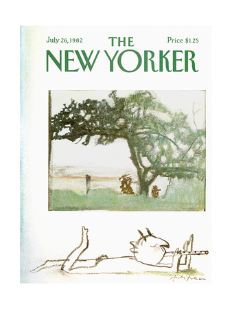The New Yorker Cover - July 26, 1982 Giclee Print by Andre Francois