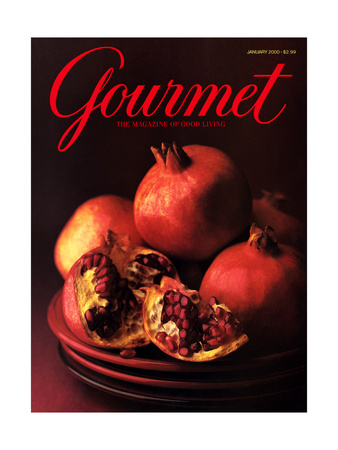 Gourmet Cover - January 2000 Giclee Print by Romulo Yanes