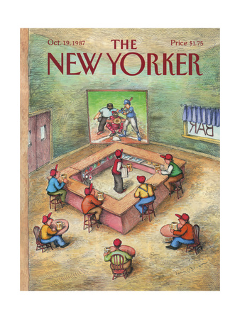 The New Yorker Cover - October 19, 1987 Giclee Print by John O'brien