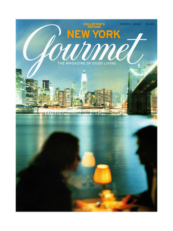 Gourmet Cover - March 2004 Giclee Print by Andrea Fazzari