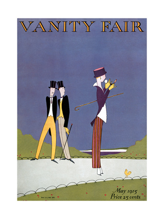 Vanity Fair Cover - May 1915 Giclee Print by A. H. Fish & Arthur H. Finley
