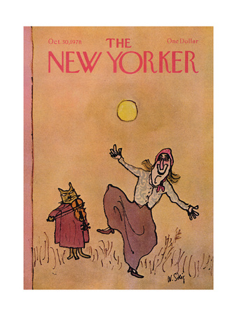 The New Yorker Cover - October 30, 1978 Giclee Print by William Steig