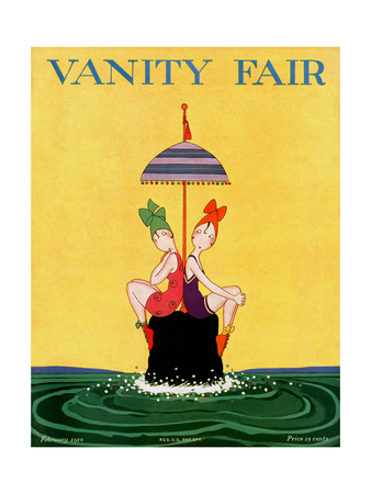 Vanity Fair Cover - February 1916 Giclee Print by A. H. Fish