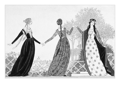 Vogue - June 1922 Giclee Print by Claire Avery