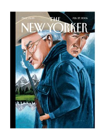 The New Yorker Cover - February 27, 2006 Regular Giclee Print by Mark Ulriksen