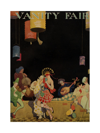 Vanity Fair Cover - March 1915 Giclee Print by  The Reeses