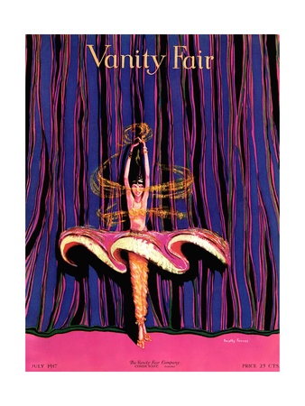 Vanity Fair Cover - July 1917 Giclee Print by Dorothy Ferriss