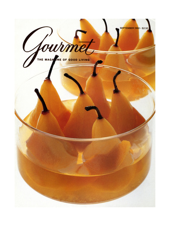 Gourmet Cover - September 1990 Giclee Print by Romulo Yanes