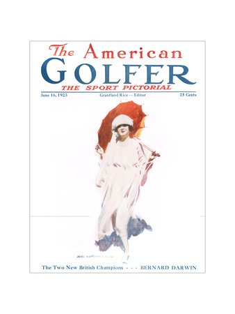 The American Golfer June 16, 1923 Giclee Print by James Montgomery Flagg
