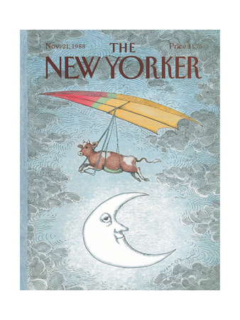 The New Yorker Cover - November 21, 1988 Giclee Print by John O'brien