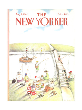 The New Yorker Cover - August 2, 1982 Giclee Print by Anne Burgess