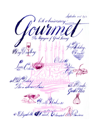 Gourmet Cover - September 2001 Giclee Print by Elvis Swift