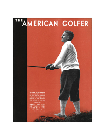 The American Golfer November 1929 Giclee Print