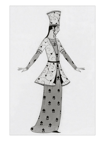 Vogue - April 1922 Giclee Print by Claire Avery